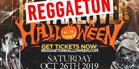 Reggaeton TakeOver Halloween tickets