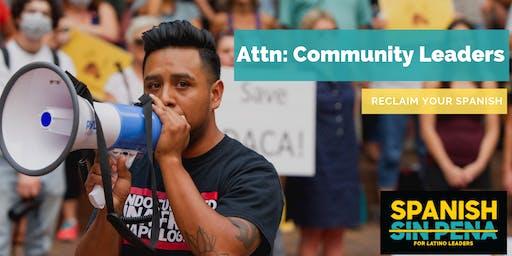 5 STRATEGIES TO RECLAIM SPANISH TO SERVE YOUR COMMUNITY