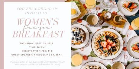 Women's Prayer Breakfast tickets