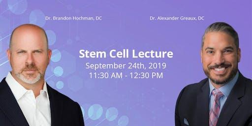 Regenerative Medicine FREE Lunch and Seminar September 24