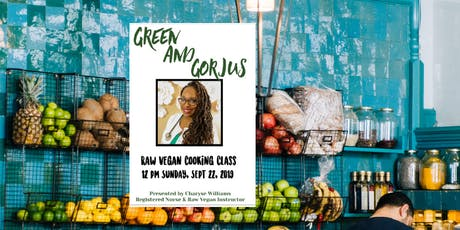 Raw Vegan Cooking Class tickets