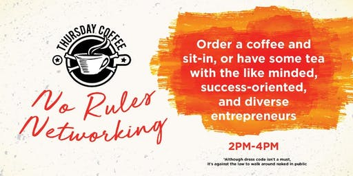 No Rules Networking Thursday Coffee