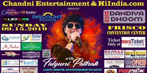 Falguni Pathak live in Garba Dallas / Frisco