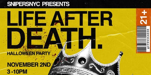 Life After Death Halloween Party
