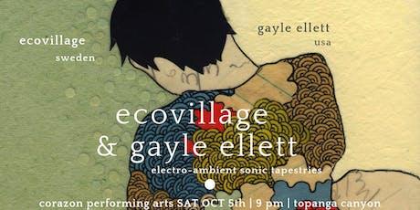 Eco-Village| SWEDEN with Gayle Ellett |USA tickets