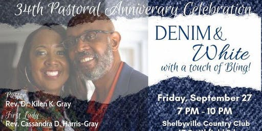 "34th Pastoral ""Denim & White"" Appreciation Celebration"