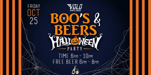 Halloween Party with Free Bud Light