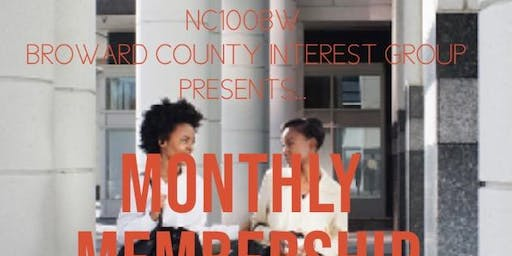 NC100BW Monthly Membership Drive