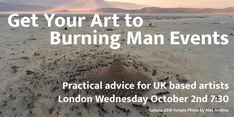 Get Your Art To Burning Man Events tickets