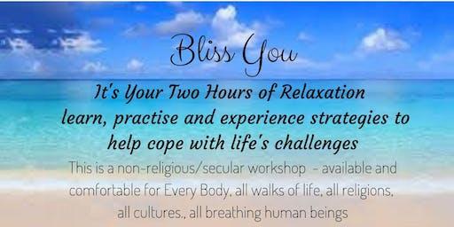 Keep Calm Workshop - learn, practice, experience methods calm mind & body
