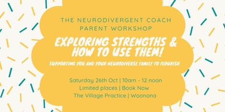 Exploring Strengths and how to use them - A workshop for parents of Autistic and ADHD kids  tickets