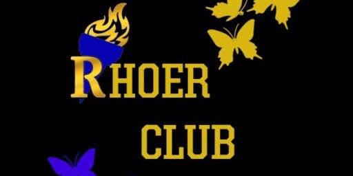 "The ""Accomplished"" Alpha Eta Sigma Chapter of Sigma Gamma Rho Rhoer Club 2019-2020 Welcome Social"