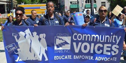 Community Voices Advocacy Workshop:  Fall 2019 Series / Taller de Abogacía de Voces de la Comunidad: Serie de Otoño 2019