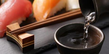 Sushi, Skewers & Sake! tickets