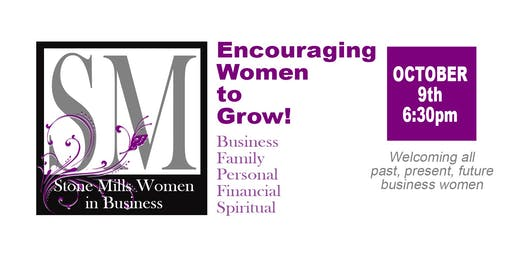Stone Mills Women in Business - Event #2