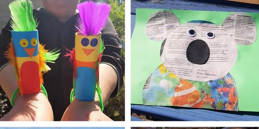 School Holiday - Recycled Art & Craft