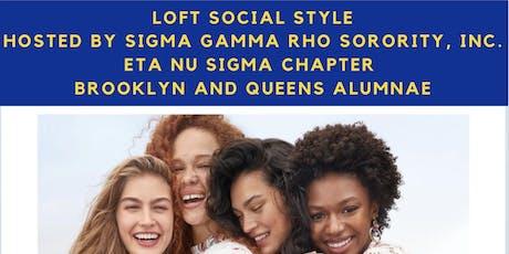 Sigma Saturday: LOFT Social Style Event tickets