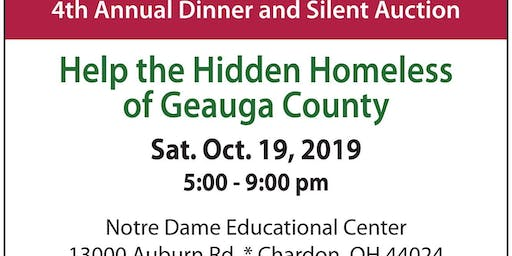 Geauga Faith Rescue Mission's 4th Annual Dinner & Silent Auction