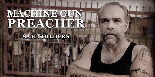 MACHINE GUN PREACHER Sam Childers to visit Brisbane