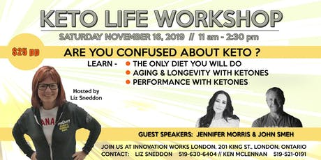 Keto Life Workshop tickets