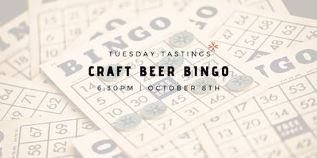 "Tuesday Tastings ""Craft Beer Bingo"" tickets"