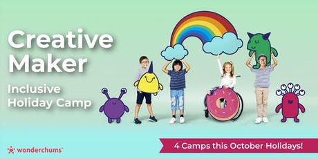 ★Creative Maker★ 2-day Inclusive Holiday Camps tickets