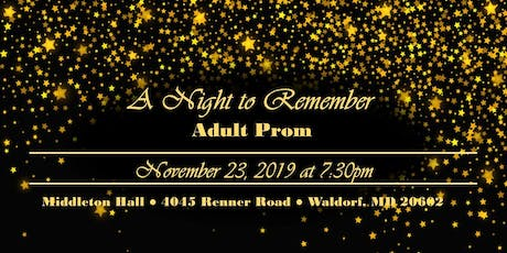 A Night to Remember tickets