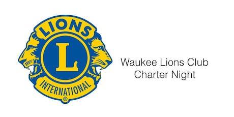 Waukee Lions Club Charter Night Celebration tickets