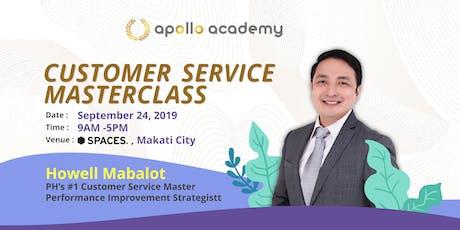 Customer Service Masterclass tickets