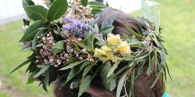 Wild Nature - Native Flower Crowns - Aberfoyle Hub Library