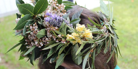 Native Flower Crowns - Aberfoyle Hub Library tickets