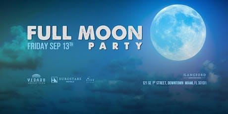 Full MOON Party (Miami) tickets