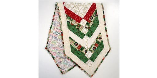 Crafternoon - Christmas Table Runner
