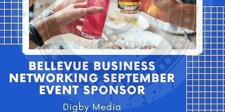 Bellevue Business Networking September Event tickets