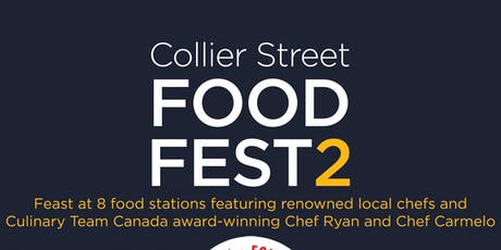 2019 Collier Street Food Fest2 tickets