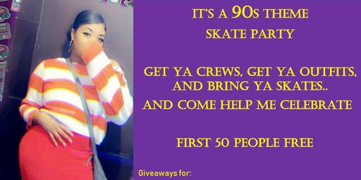 90's Skate Party!!