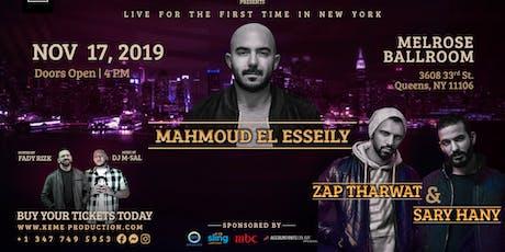 Mahmoud El Esseily & Zap Tharwat/Sary Hany In New York tickets