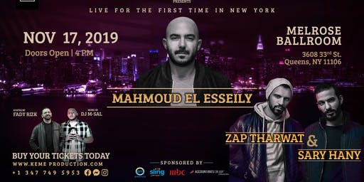 Mahmoud El Esseily & Zap Tharwat/Sary Hany In New York