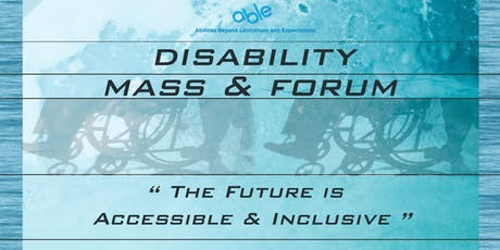 I AM ABLE! - Disability Mass and Forum tickets