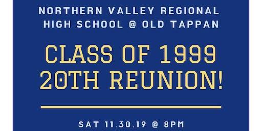 NVOT Class of '99 20 Year Reunion!