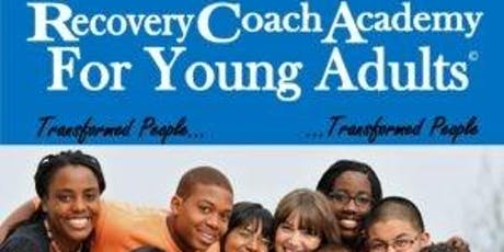 CCAR Recovery Coach Academy for Young Adults a 3 Day in Person Training tickets