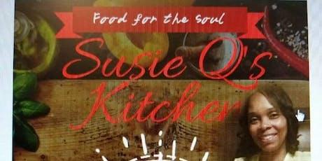 Susie Q's Kitchen an Catering Pop up tickets