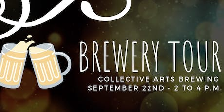 Collective Arts Brewery Tour tickets
