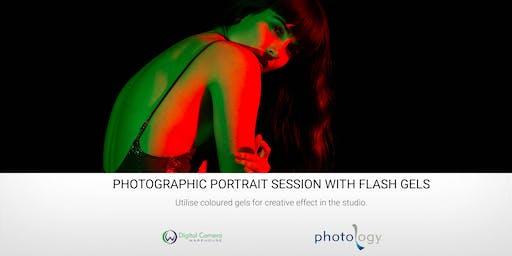 Photographic Portrait Session with Flash Gels - 19/10/2019 - Melbourne