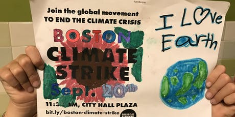 Save the Date: Join Us for the ClimateStrike Boston on Friday, September 20 tickets