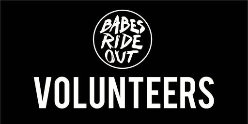 VOLUNTEERS | BABES RIDE OUT 7