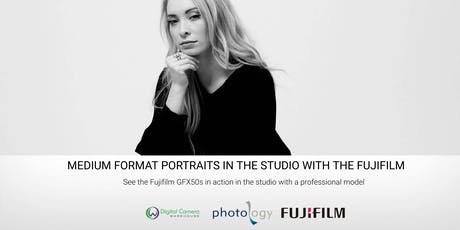Medium Format Portrait Photography in the Studio with the Fujifilm GFX50s tickets