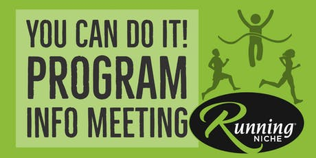 You Can Do It Program Info Meeting tickets