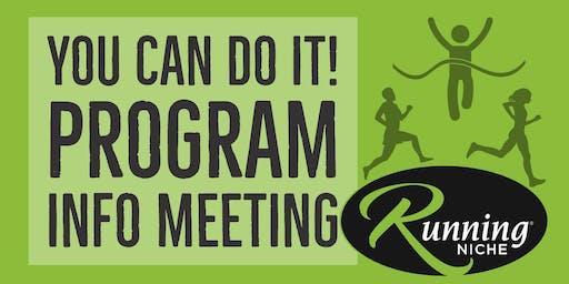 You Can Do It Program Info Meeting