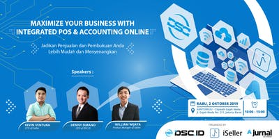 (PAID EVENT) Maximize Your Business with Integrated POS & Accounting Online